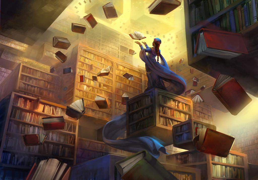 The Archivist - Julie Dillon